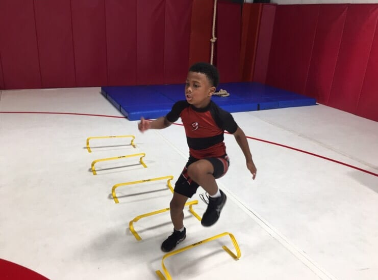 How Wrestling Keeps Your Child Fit